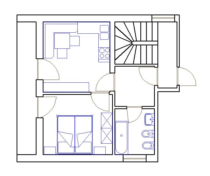 Grundriss Wohnung Edelweiß